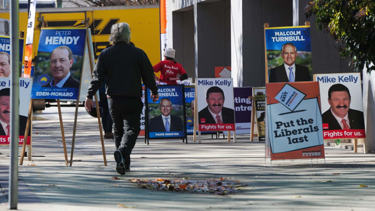 Electronic voting at pre-poll stations should be considered for the next federal election.