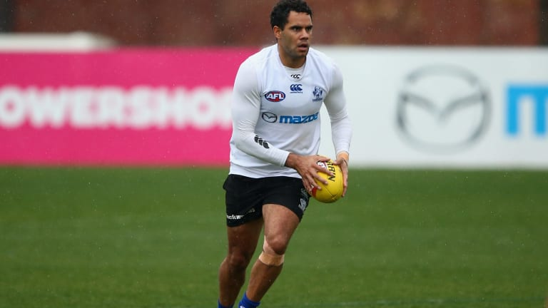 Daniel Wells has been frequently sighted at training, but not at AFL level.