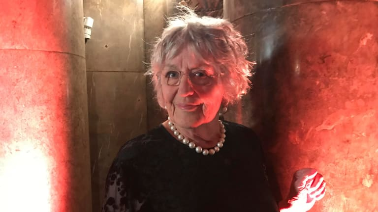 Germaine Greer at the Australia Day Foundation's awards in London.