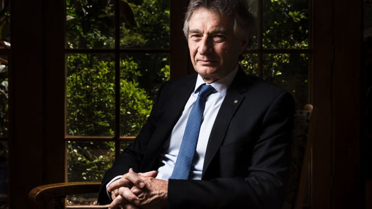 Retired Commonwealth auditor-general Ian McPhee, who served in the role for a decade.
