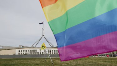 Digital youth service ReachOut said it has seen a 20 per cent surge in people accessing its online advice relating to LGBTIQ issues since August.