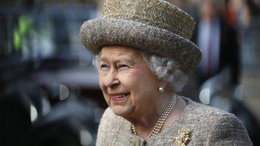 Alleged target: Queen Elizabeth II.