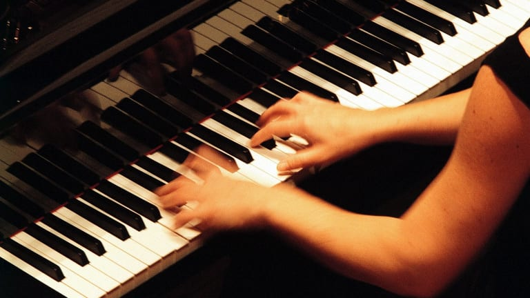 """During the 19th century, the piano became """"the social anchor of the middle-class home""""."""