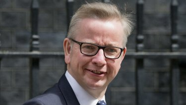 Former British Justice Secretary Michael Gove interview Donald Trump for the Financial Times.