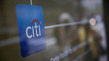 Citi said more than 95 per cent of its transactions occur outside branches.