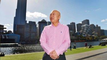 Living in terror: Zheng Jiefu says he is being followed.
