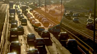 The time it takes to travel from the CBD to Melbourne Airport has blown out to 42 minutes.