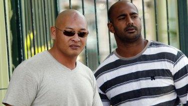 Awaiting execution: Andrew Chan (left) and Myuran Sukumaran (right) in Kerobokan prison in Bali, Indonesia in 2011.