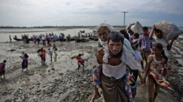 More than half a million Rohingya have fled from Myanmar in just over a month, the largest refugee crisis to hit Asia in decades.