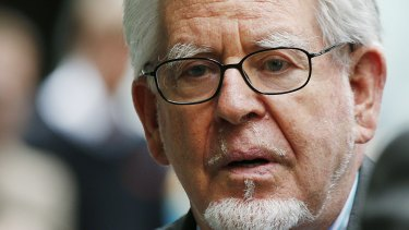 Rolf Harris, photographed at his court appearance in London, received the Celebrity Silver Ernie.