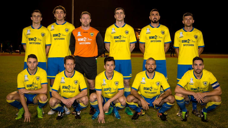 Rewriting history: Bankstown Berries - Canterbury-Marrickville's new moniker - will emerge from the shadows to host MetroStars from South Australia in the FFA Cup.