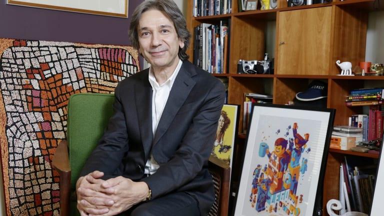 Animal Logic chief executive Zareh Nalbandian ... expanding the animation studio.