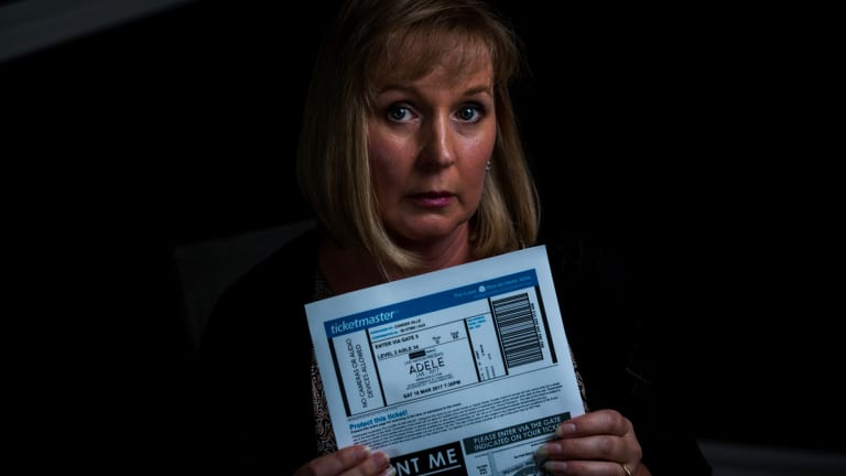 Consumer Simone Mohr lost $3000 to ticket scalpers after buying Adele tickets from Viagogo.
