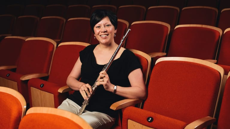Canberra Youth Orchestra 50 year anniversary: Felicity Gallagher.