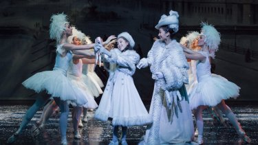 Career spectrum: The Australian Ballet's Nutcracker - The Story of Clara, choreographed by Graeme Murphy.
