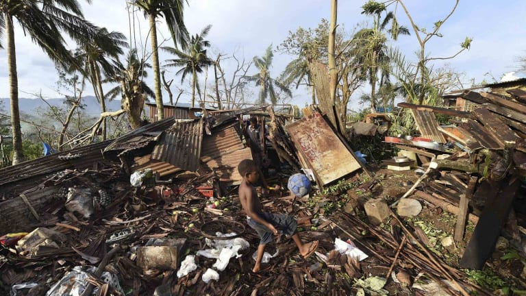 Big clean-up in Port Vila after Cyclone Pam - will there be a legal damage bill too?