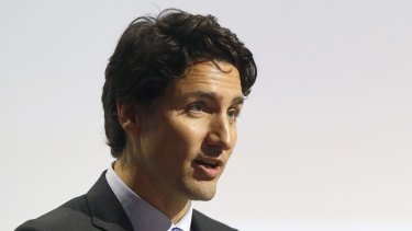 Canadian Prime Minister Justin Trudeau has welcomed Syrian refugees.