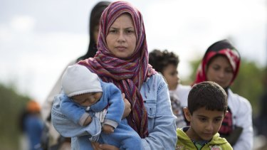 Migrants cross into Hungary from countries such as Syria.