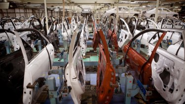 Toyota is selling the 5.7-hectare factory in Laverton North where it makes door panels and seats.
