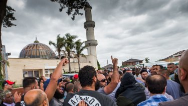 Factions are at odds over the running of the Preston Mosque.