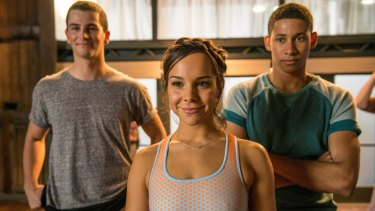 Reunion: (From left) Thomas Lacey, Dena Kaplan and Keiynan Lonsdale are back, and on the big screen, in <i>Dance Academy: The Movie</i>.