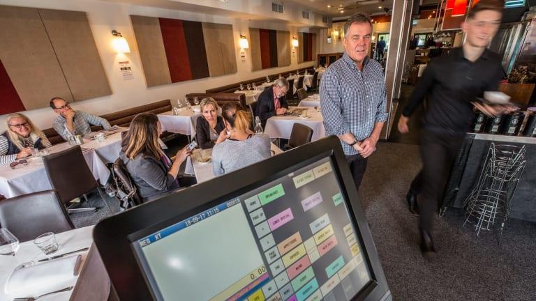 Ken Taylor is the owner of Templestowe Living Room restaurant.