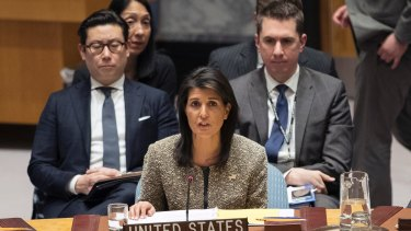 American Ambassador to the United Nations Nikki Haley said the US would always make decisions based upon American interests.