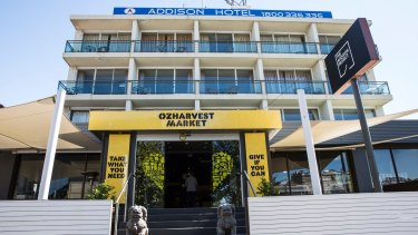"""""""Take what you need"""": The new OzHarvest store is Australia's first rescued food supermarket."""