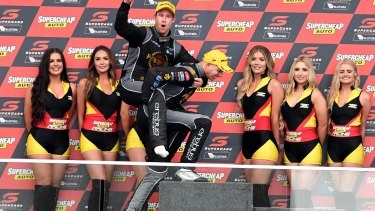 David Reynolds and Luke Youlden took a popular victory at the 2017 Bathurst 1000.