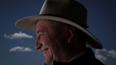 """""""The swing to Barnaby was higher than the Labor Party's primary vote"""", the PM said."""
