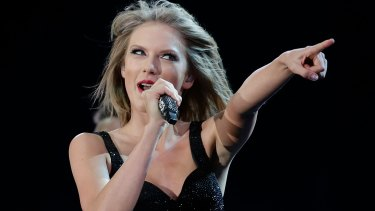 Teen idol: Taylor Swift proved why she is such a mega success at ANZ Stadium on Saturday.