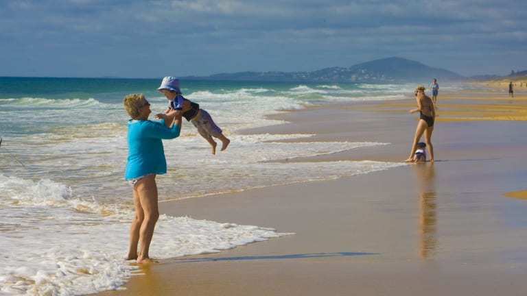 At this time of year, it's not all hard work, often six days a week, moving grandchildren from one parent-set commitment to another.