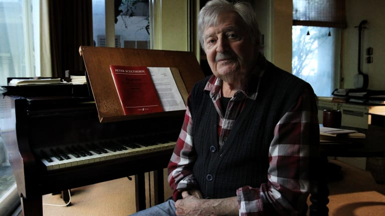 This year Sydney farewelled composer Peter Sculthorpe, who defined an Australian sound in classical music.