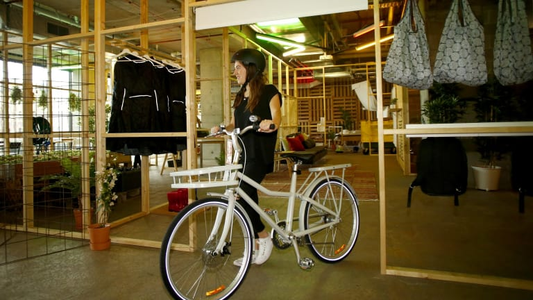 """IKEA Australia says its first bicycle """"costs the equivalent of 3.5 months of train fares or 1.5 months of parking fees""""."""