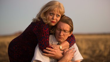 Jacki Weaver and David Wenham in <i>Goldstone</i>.