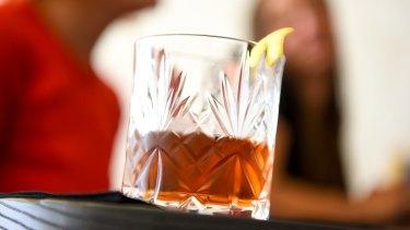 Dunning Kruger's elegant Vieux Carre cocktail.