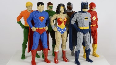 Nathan Sawaya's  Lego sculptures of heroes and villains are on show from Sunday, November 22, at the  Powerhouse Museum, 500 Harris Street, Ultimo. $26.