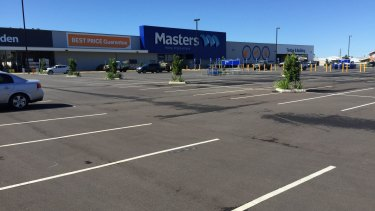 A car park in Lismore in northern NSW reveals the extent of Woolies' problem.
