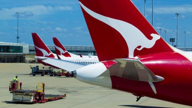Qantas has returned to profitability, but only after several years of substantial losses.
