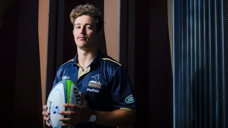 New Brumbies recruit James Verity-Amm can play a variety of positions in the backline.