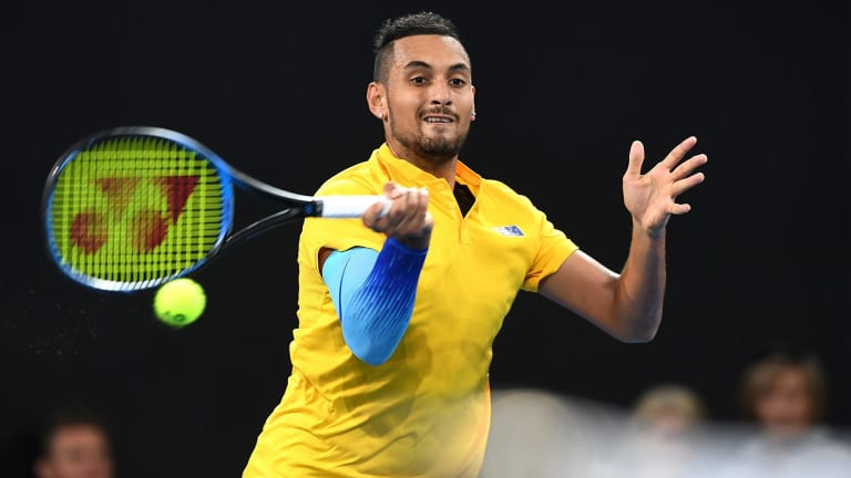 Australian tennis great Wally Masur has backed Nick Kyrgios to reach Novak Djokovic levels of greatness.