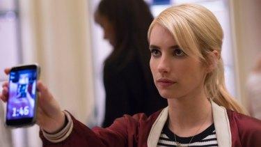 Emma Roberts in <i>Nerve</i>.