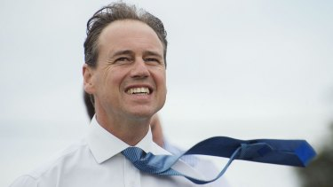 The price of the part-time wind farm is three times it's estimated cost: Environment Minister Greg Hunt.
