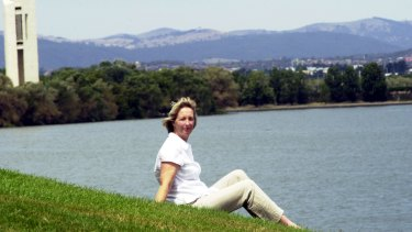 A champion of Lake Burley Griffin: Dianne Firth in the 1990s