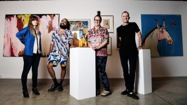 Artists Lara Merrett, Ramesh Mario Nithiyendran, Del Kathryn Barton and Nicholas Harding are showing off their private collections.