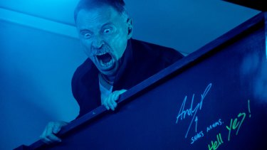 """Robert Carlyle channels the Begbie rage again. He stayed away from his wife and children during the shoot: """"You don't want to bring that stuff home with you."""""""