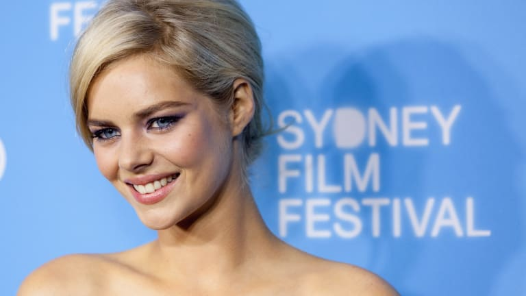 Australian actress Samara Weaving has unwittingly become embroiled in a pro-Donald Trump campaign.