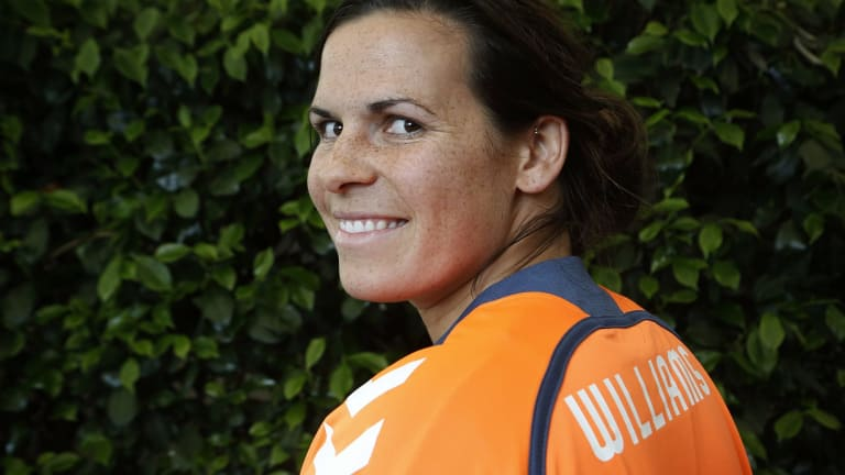 Canberra United goalkeeper Lydia Williams has been picked in the Matildas squad for the women's World Cup.
