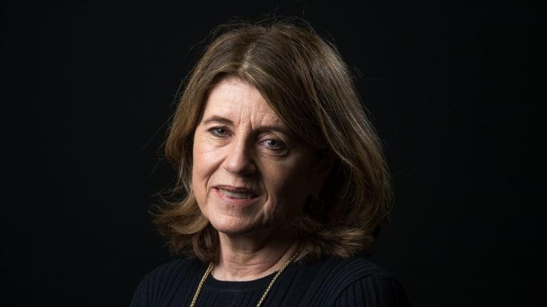 The Age's chief football writer Caroline Wilson.