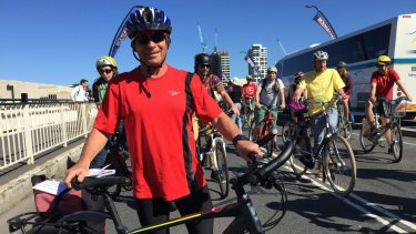 Rolf Kuelsen has been a cycling commuter in Brisbane for almost 40 years.